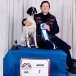 7th Place; Agility 2001