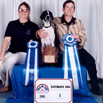 1st Place Ultimate Dog 2001